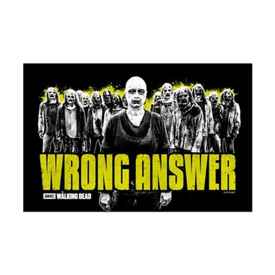 Wrong Answer Mini Poster Print