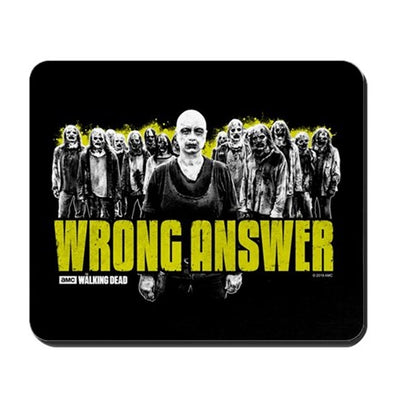 Wrong Answer Mousepad