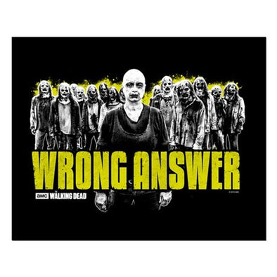 Wrong Answer Small Poster