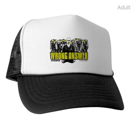 Wrong Answer Trucker Hat