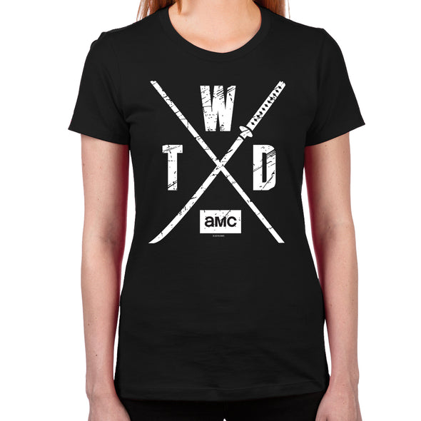 TWD Season X Logo Women's T-Shirt