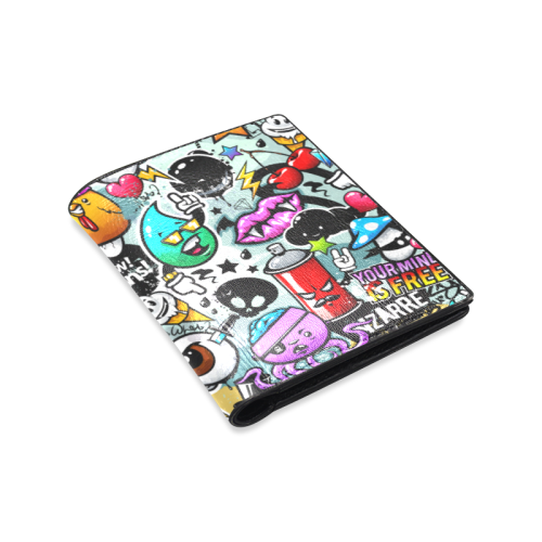 Sounds of Graffiti - Men's Leather Wallet
