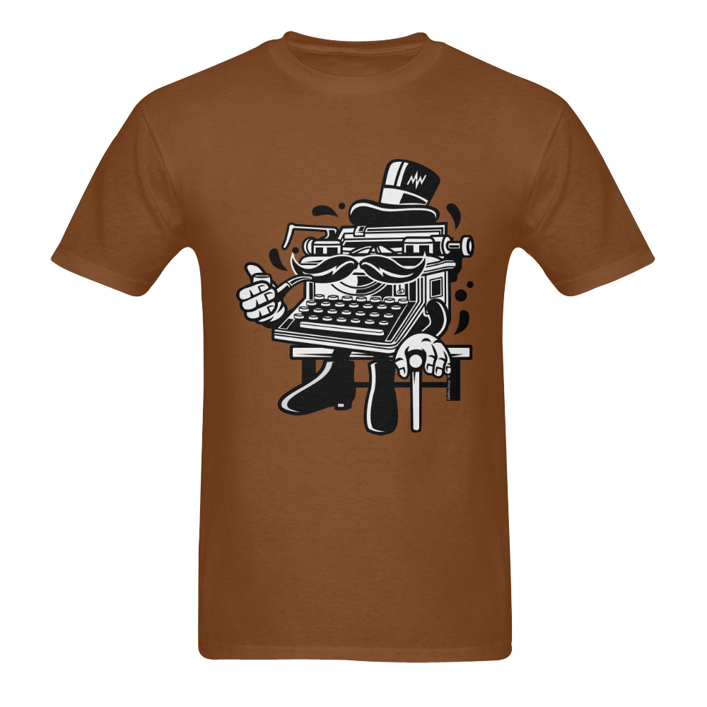 MW Typewriter - Men's T-shirt