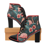 Tropicomedy - Women's Lace Up Ankle Booties