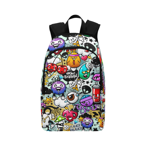 Sounds of Graffiti - Adult Fabric Backpack