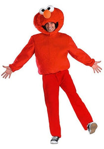 Red Sesami Elmo Adult Onesie Pajamas