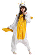 Yellow Unicorn Adult Onesie Pajamas