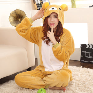 Bear Adult Onesie Pajamas