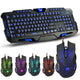 3 Colors Backlit Game Keyboard W/ Gaming Mouse