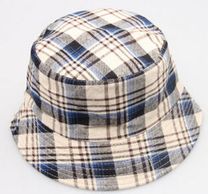 Plaid Fashion Bucket Hat
