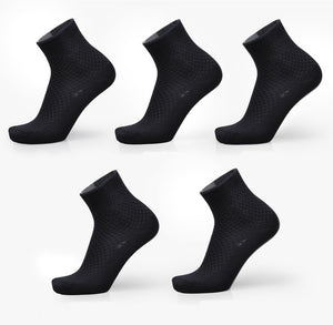 Breathable Anti-Bacterial Men Socks (5pairs / lot)