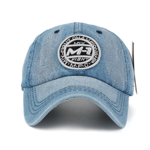 Denim Snapback Cap