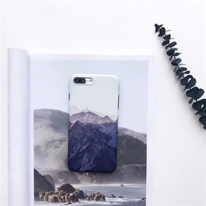 Landscape scenery painted case for iPhone  8 and 8 plus