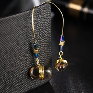 Party Big Stone Drop Earring For Women