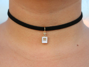 Triangle Crystal Choker