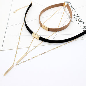 Bar Square Choker