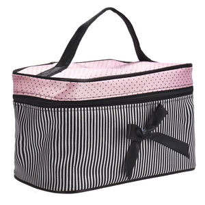 Make up Bag Striped