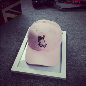 Dad Hat - Rose in Hands