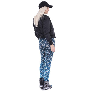 Mermaid Sexy Slim Fit High Waist Elastic Leggings