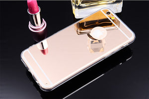 Luxury Mirror Gold Case For iPhone 8 & 8 Plus