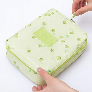 Portable Toiletry Cosmetic Bag Waterproof