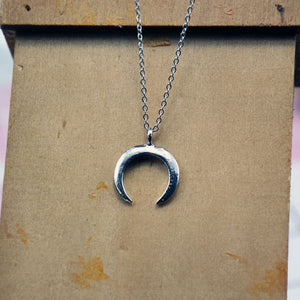 Moon Double Choker Necklace