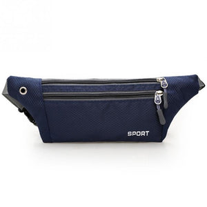 3 Layer Zipper Fanny Pack