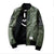 Army Green Military Bomber Jacket