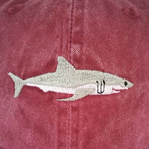 Shark Embroidery Casual Baseball Hat