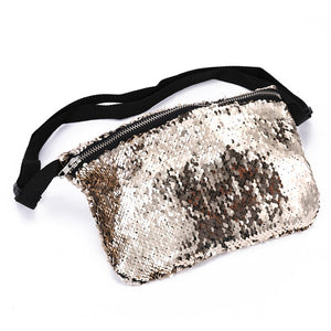 Sequins Crossbody Fanny Pack