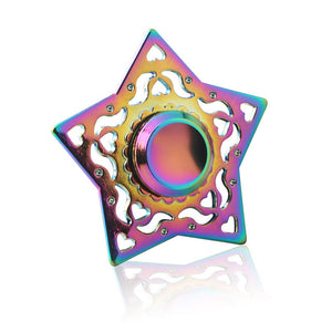 Fidget Spinners Metal Rainbow