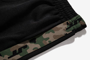 Camouflage Side Stripe Highstreet Men's Track Sweatpants
