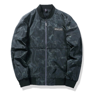 Colors Camouflage Bomber Jacket