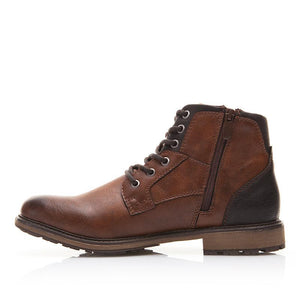 High-Cut Lace-up Warm Men's Boot