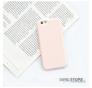 Silicone Frosted   Case For iPhone 8 & 8 Plus