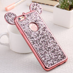 Glitter Cover Cases for iPhone 8 & 8 Plus