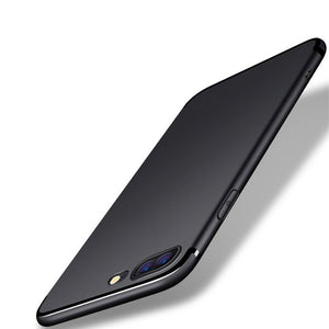 Luxury Black Soft Matte Silicon Case for iPhone X