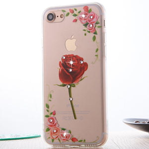 Floral Painted Case For iPhone 8 & 8 Plus