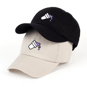 Purple Cup Dad Hat