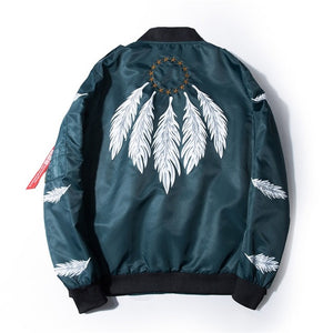 Patches Army Bomber Jacket
