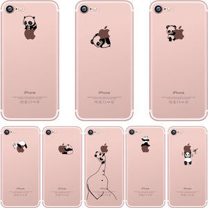 Animal Design silicone iPhone X case
