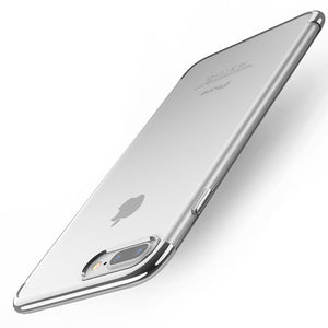 3D Transparent Cover Cases For iPhone X