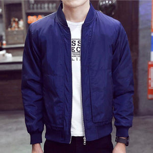 Collar Bomber Jacket