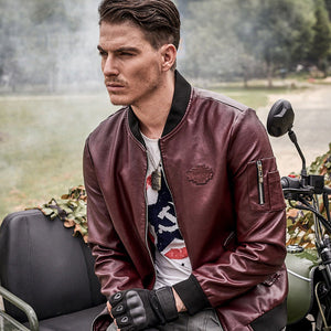 Premium Men's Leather Jacket