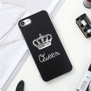 Valentine KING Queen Case For iPhone 8 & 8 Plus