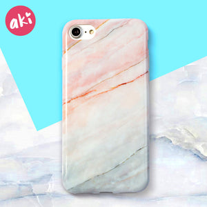 Marble Phone Case For iPhone 8 & 8 Plus