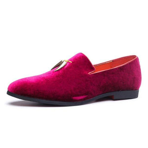 Suede Slip-on Casual Loafer Men's Shoe