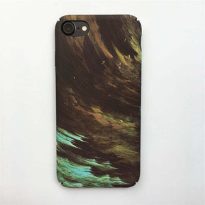 Army Camo Matte Case for iphone X