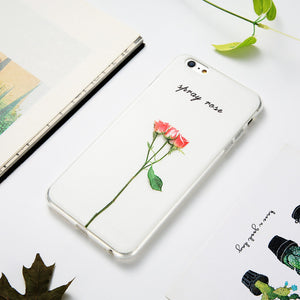 Flower Patterned  Case For iPhone 8 & 8 Plus