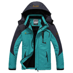 Windproof Ski Hooded Windbreaker Men's Jacket